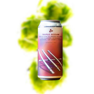 Trillium Triple Seesaw Sour Gose - Peach, Plum, Blueberry, Boysenberry, Strawberry, Tart Cherry & Apricot (Can)